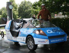 Solartaxi v Praze