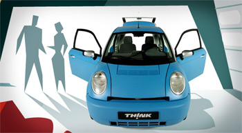 Elektromobil Th!nk City