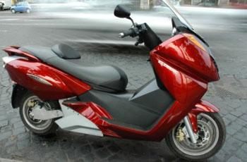 Vectrix Maxi-Scooter