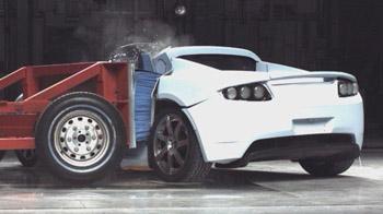 Crashtest Tesla Roadster