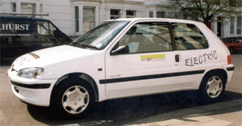 elektromobil Peugeot 106 Electrique
