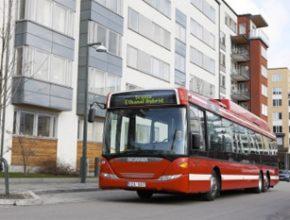 Autobus Scania - Švédsko