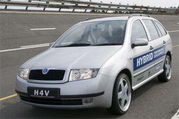 Škoda Fabia Hybrid