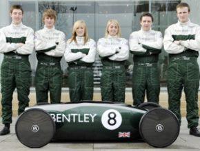 experimentální elektromobil Bentley