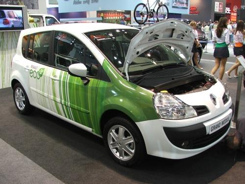 ekologický vůz Renault