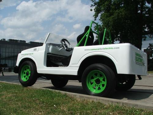 Suzuki Samurai - elektromobil 4x4