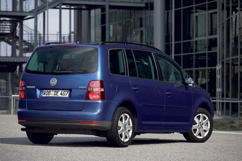 Volkswagen Touran EcoFuel na CNG