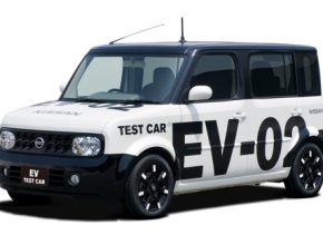 Elektromobil Nissan postavený na modelu Nissan Cube
