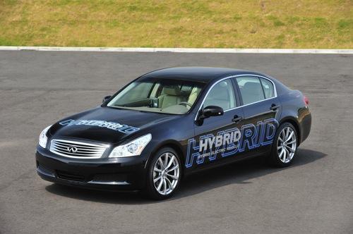 Hybrid Nissan využívající li-ion baterie