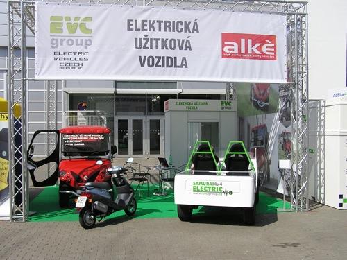 elektromobil EVC Group Suzuki Samurai 4x4
