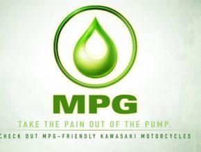 MPG - Kawasaki motocykly a snižování spotřeby