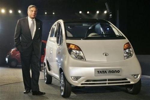 Tata Motors - Tata Nano a Ratan Tata