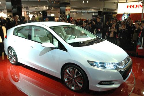 Honda Insight v Paříži