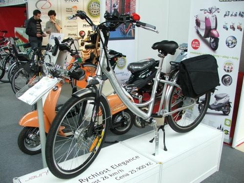 elektrokola na akci E-bike Brno 2008