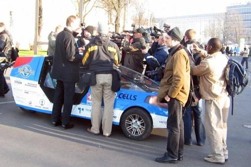 Elektromobily - Solar Taxi