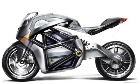 Vectrix superbike - elektrický motocykl