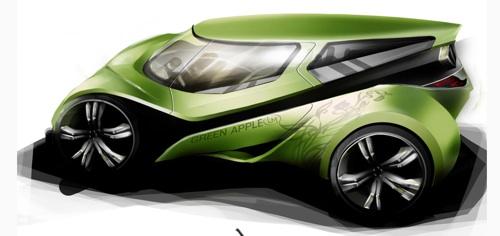 elektromobil Green Apple