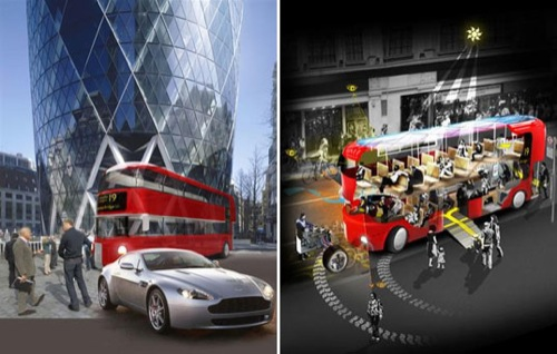 Londýn - nové double deckery