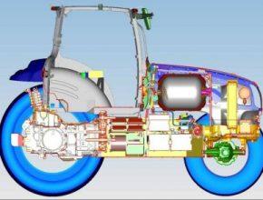 traktor New Holland NH2 na palivové články vodík