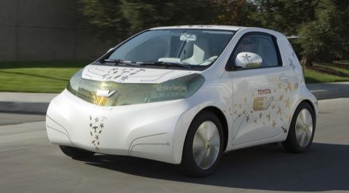 elektromobil Toyota FT-EV