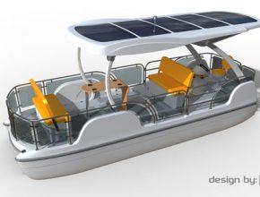 Solární loďka
