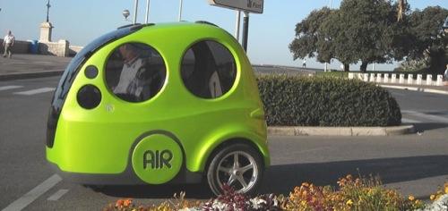 Auto na vzduch - AirPod