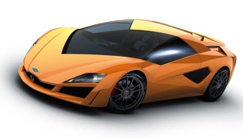 hybridní automobil Italdesign Namir