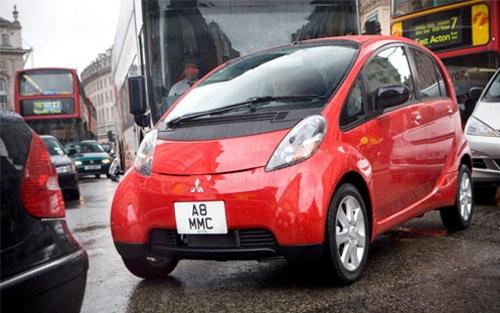 Mitsubishi i MiEV elektromobil