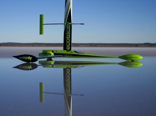 Greenbird - auto na vítr