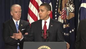 Barack Obama ohlašuje plán národního rozvoje železnice