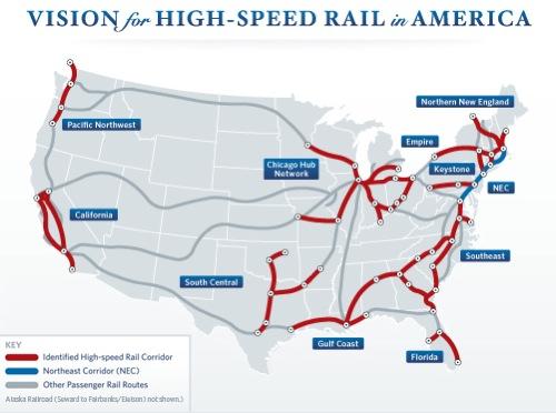 Vysokorychlostní železnice pro USA