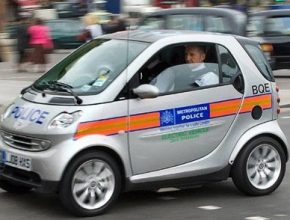 smart fortwo ed - londýnská policie