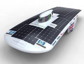 solární vozítko CUER Bethany