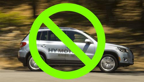 vodíková auta v USA - škrty v rozpočtu na výzkum zřejmě oddálí masivní rozšíření této technologie