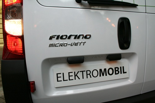 elektromobil Fiat Fiorino MicroVett