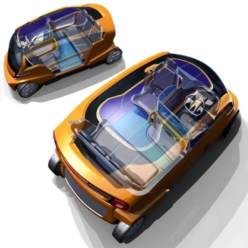 taxi budoucnosti pro Austrálii 2020 - elektromobil