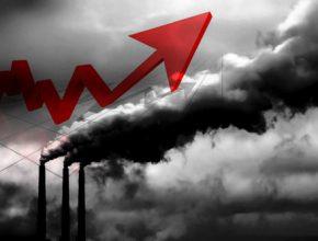 Nárust emisí