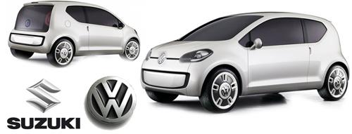 Volkswagen a Suzuki - Up! koncept