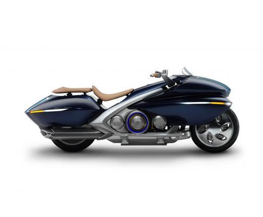 Yamaha - koncept hybridní motorky Gen Ryu