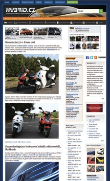 magazín Hybrid.cz - úvodní strana