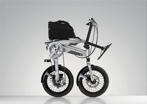 Mercedes-Benz skládací kolo
