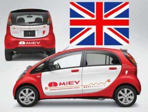 Elektromobil Mitsubishi i MiEV - testy v Británii