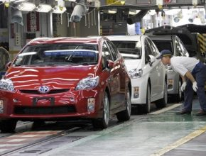 Toyota - továrna Tsutsumi v Japonsku