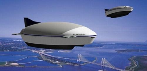 solární vzducholodě Turtle Airships