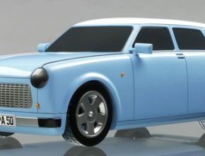Herpa - Trabant jako elektromobil pro autosalon Frankfurt
