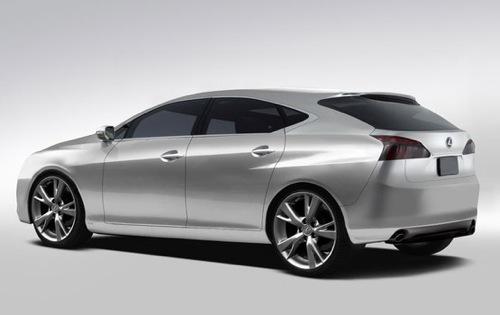 Lexus hatchback chystaný pro autosalon Frankfurt