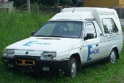elektromobil Škoda Eltra Pickup - Favorit