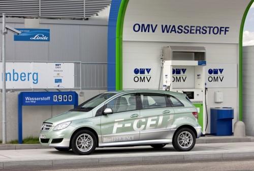 Mercedes-Benz třída B F-CELL