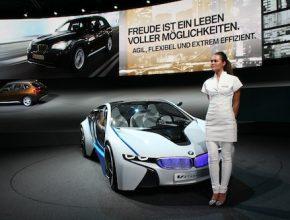 Autosalon IAA Frankfurt 2009 - BMW Vision EfficientDynamics