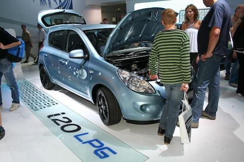 Autosalon IAA Frankfurt 2009 - Hyundai i20 LPG